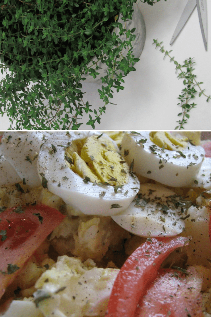 Lemon Thyme Potato Salad Recipe
