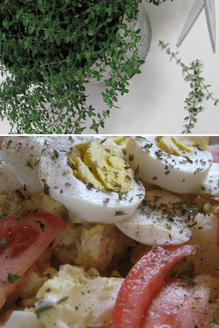 Lemon Thyme Potato Salad Recipe
