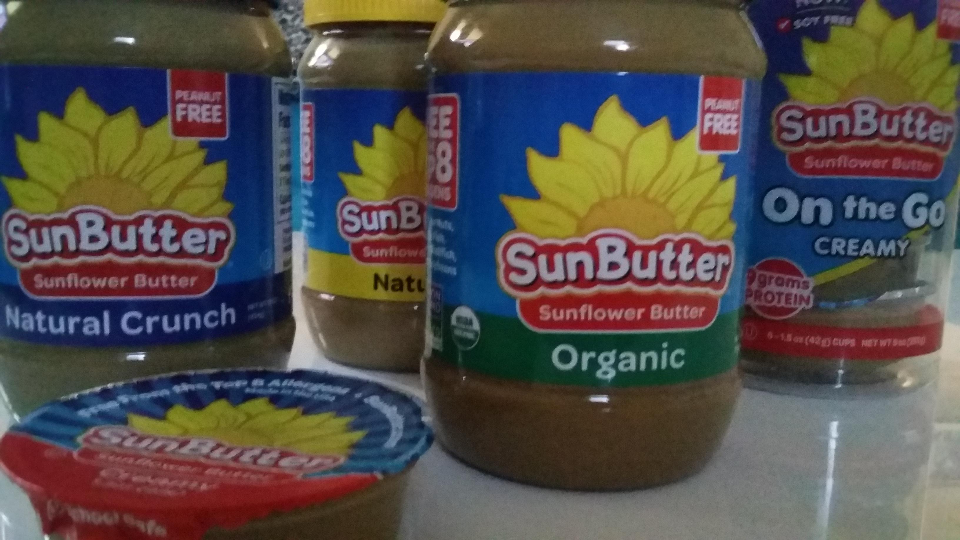 Allergic to peanuts? You'll want this product. #sunbuter #momsmeet #greenmomsmeet #ad