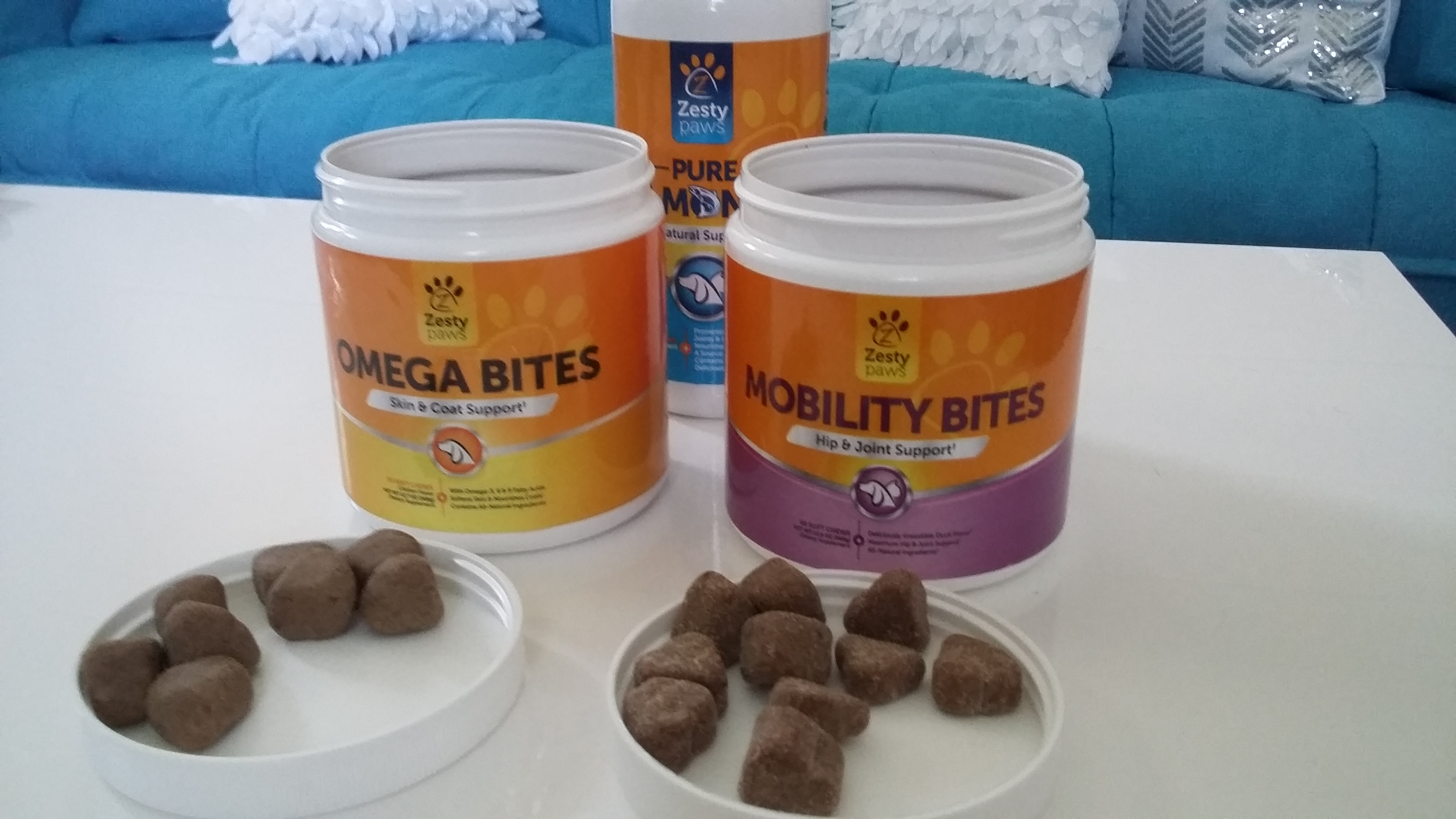 Zesty Paws Natural Supplements for Dogs & Cats