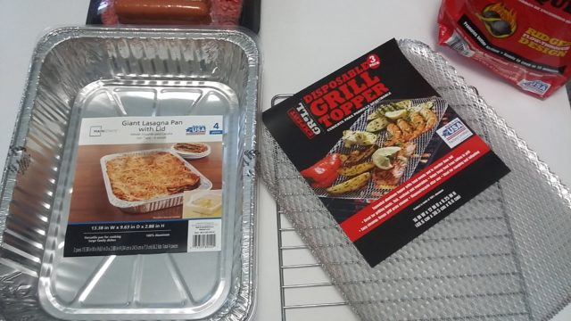 D.I.Y. Portable Disposable Charcoal Grill #SummerIsForSavings #CollectiveBias #WFM2 #AD