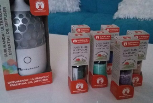Diffuser and all natural aromatherapy oils