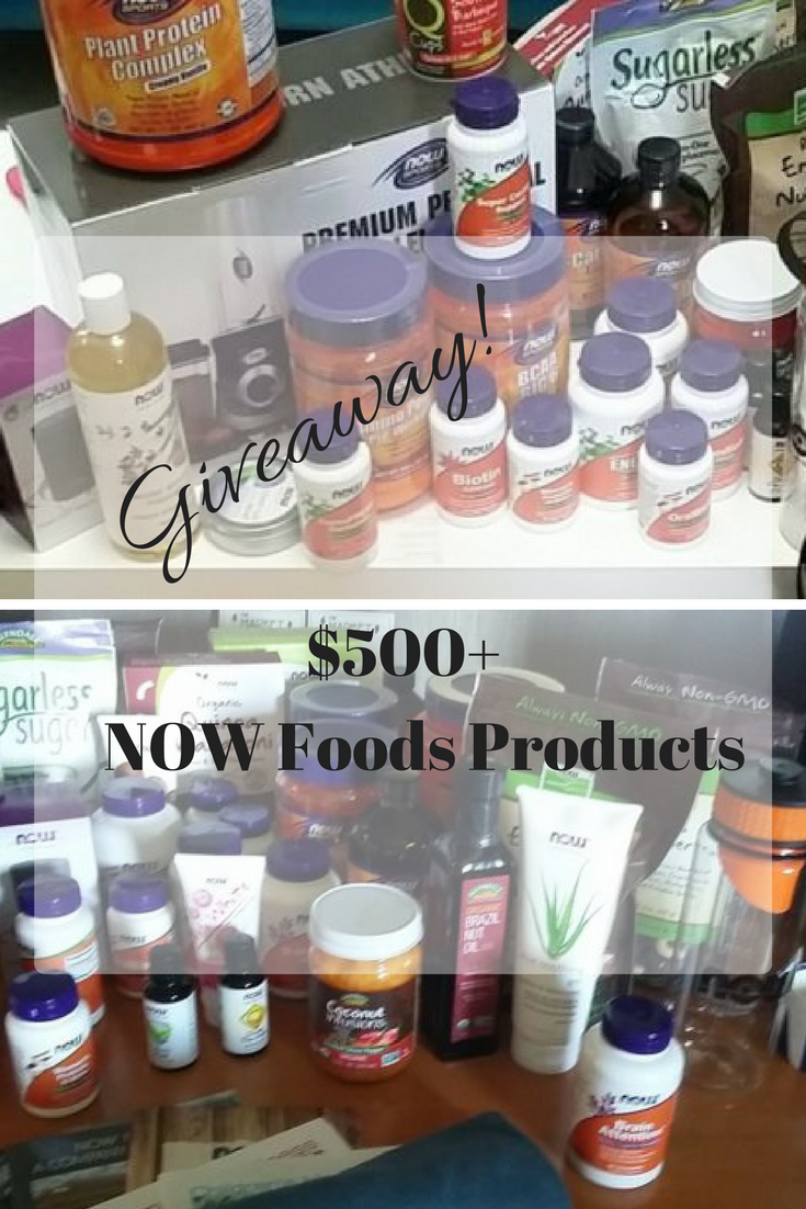 #NOWFoods #Giveaway Worth $500 #HealthyFamNOW #IC ad