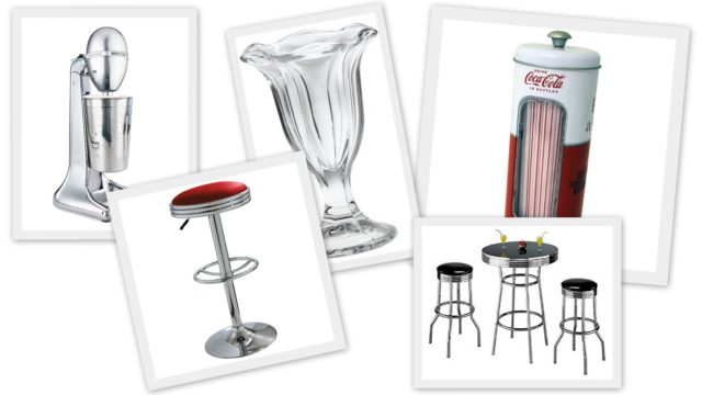 Vintage Retro Soda Fountain