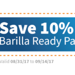 Save on Barilla Ready Pasta