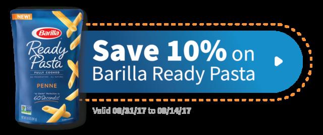 Save on Barilla Ready Pasta #ReadyPasta #CollectiveBias #ad