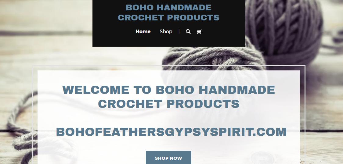 Handmade Crochet Blankets, New Shop, GoCentral @godaddy #GoDaddy #clvr #ad
