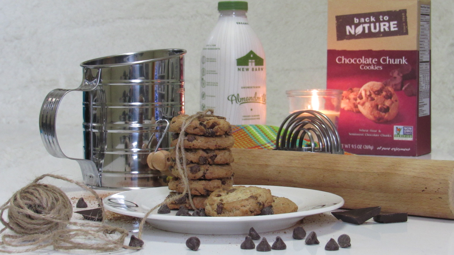 Back To Nature Chocolate Chunk Cookies #momsmeet #glutenfree #ad #cookies #organic