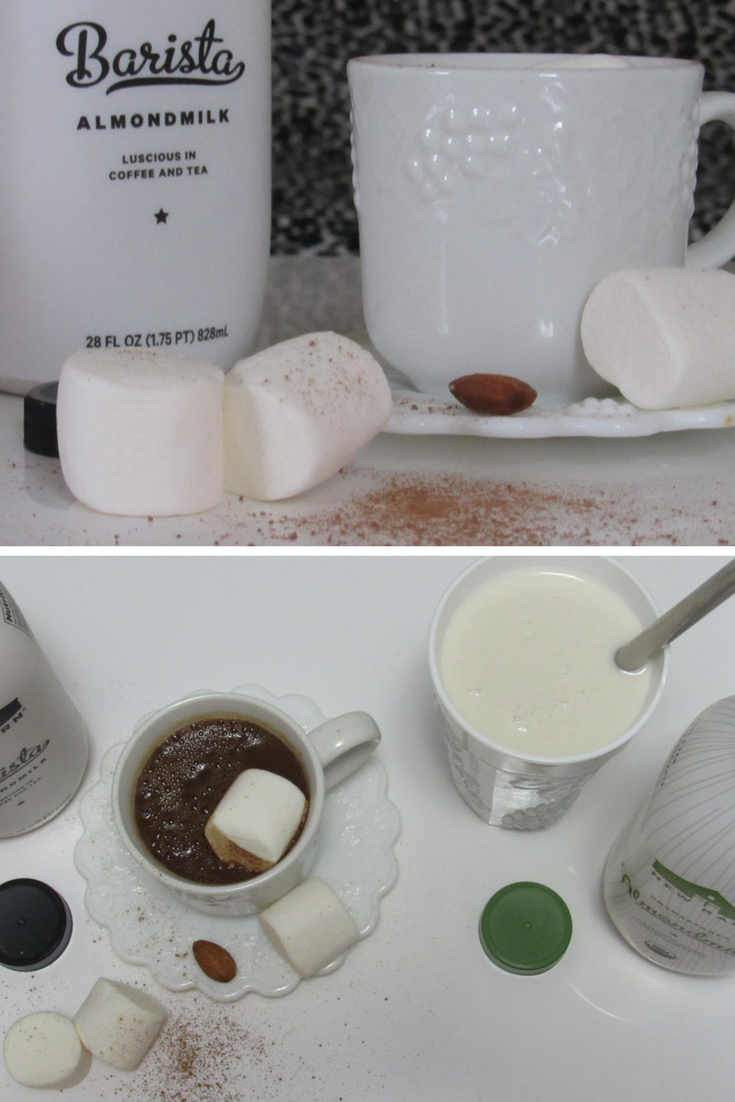 #Organic Unsweetened Almondmilk & Barista Almondmilk #ad #momsmeet #thenewbarn #almondmilk