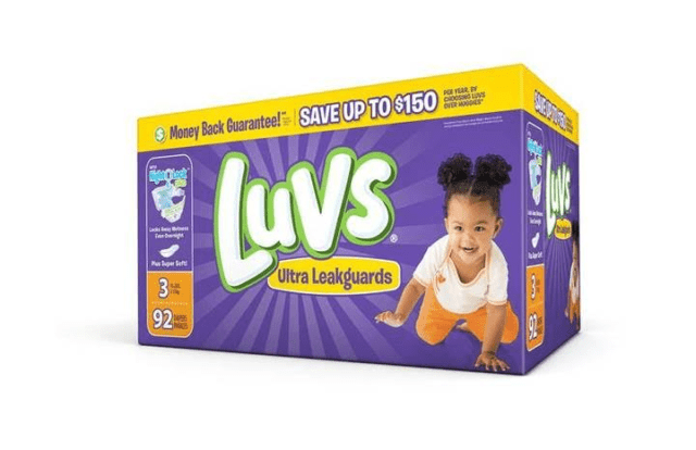Diaper Alert: Check Your Favorite Retailer for New Lower Luvs Prices! #MoreToLuv #ad