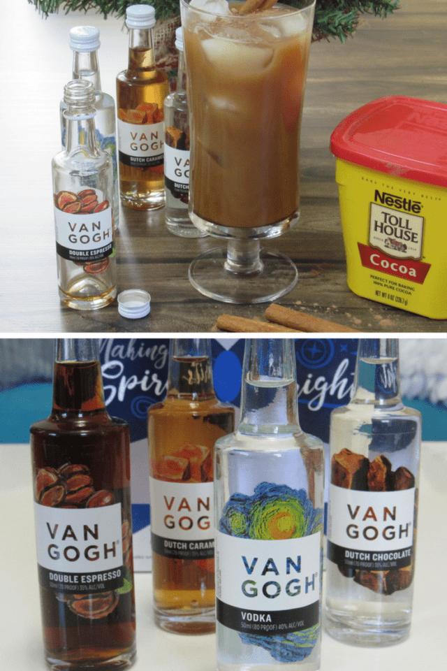 Making Spirits Bright with Van Gogh #holidays #parties #beverages  #recipes @vangoghvodka
