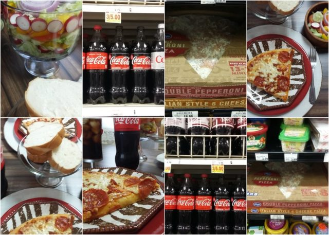 Coca-Cola & Kroger Fresh Ready to Heat Pizza #KrogerPizzaDeal #ad