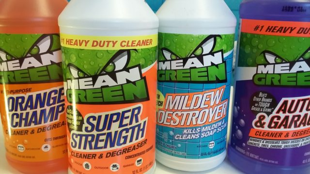 Mean Green, for all your cleaning needs