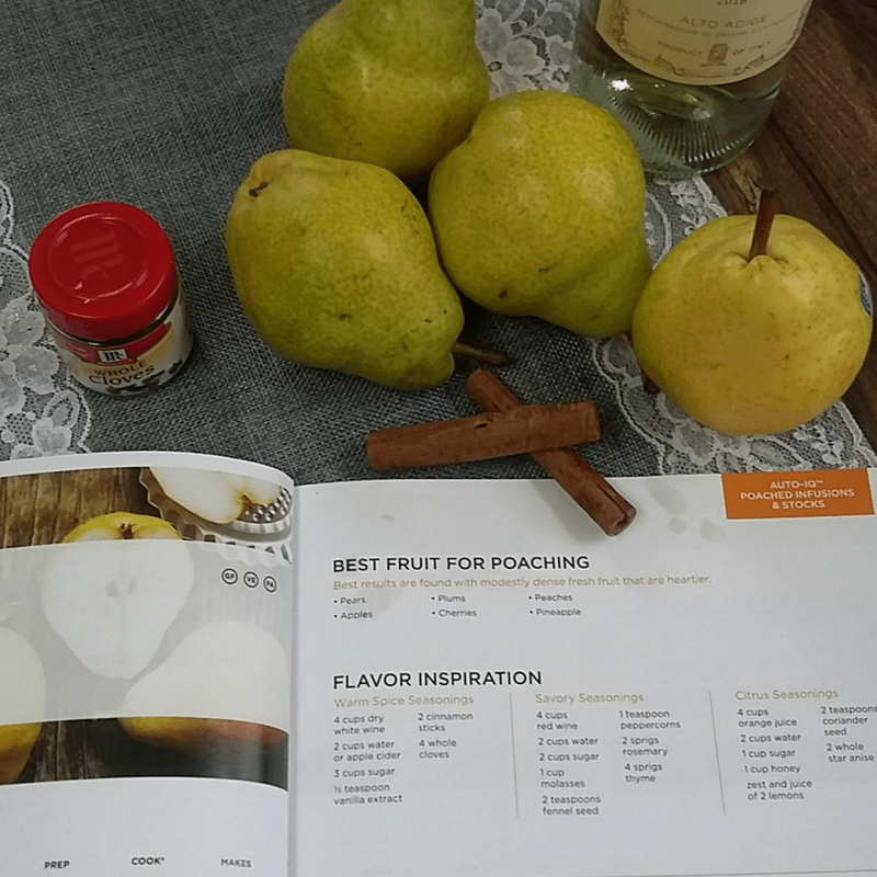 Poached Pears or Apples Recipe