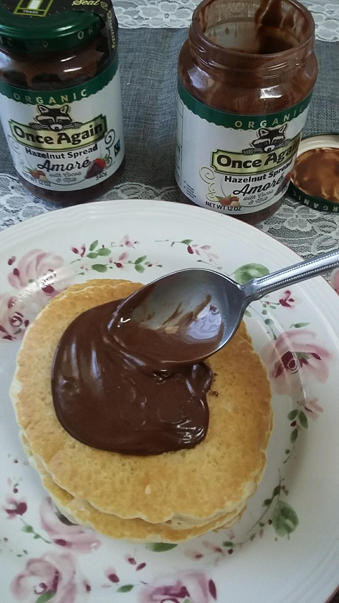 If I Could Pass on a Message, Once Again Nut Butter Amoré Hazelnut Spread #momsmeet #ad