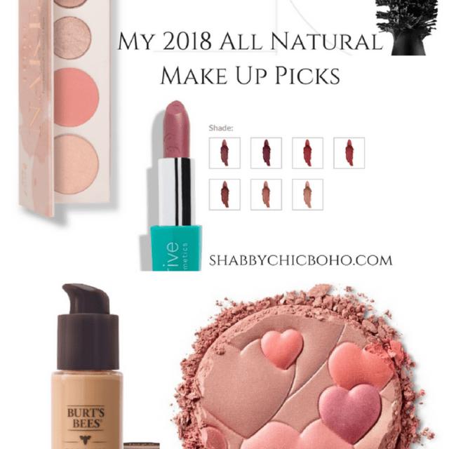 My Top All Natural Makeup Picks, 2018