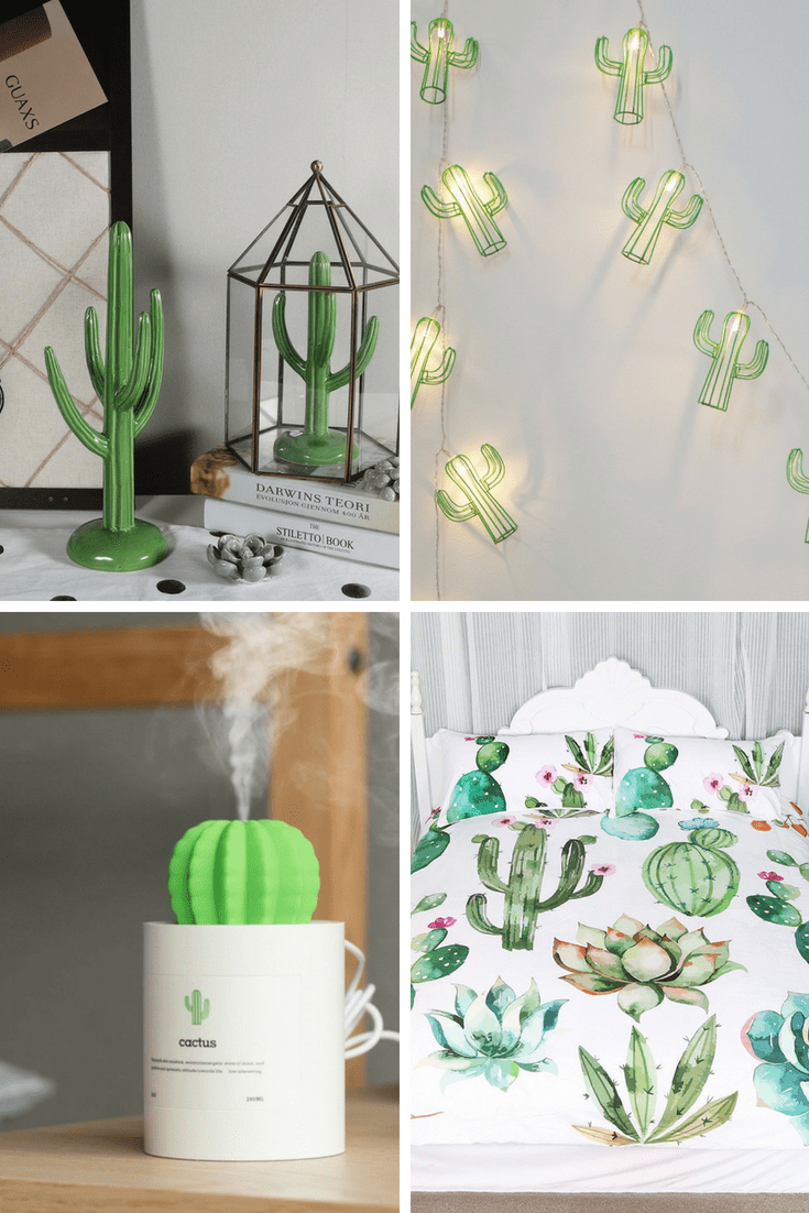 Modern, boho, cacti, cactus, home decor.