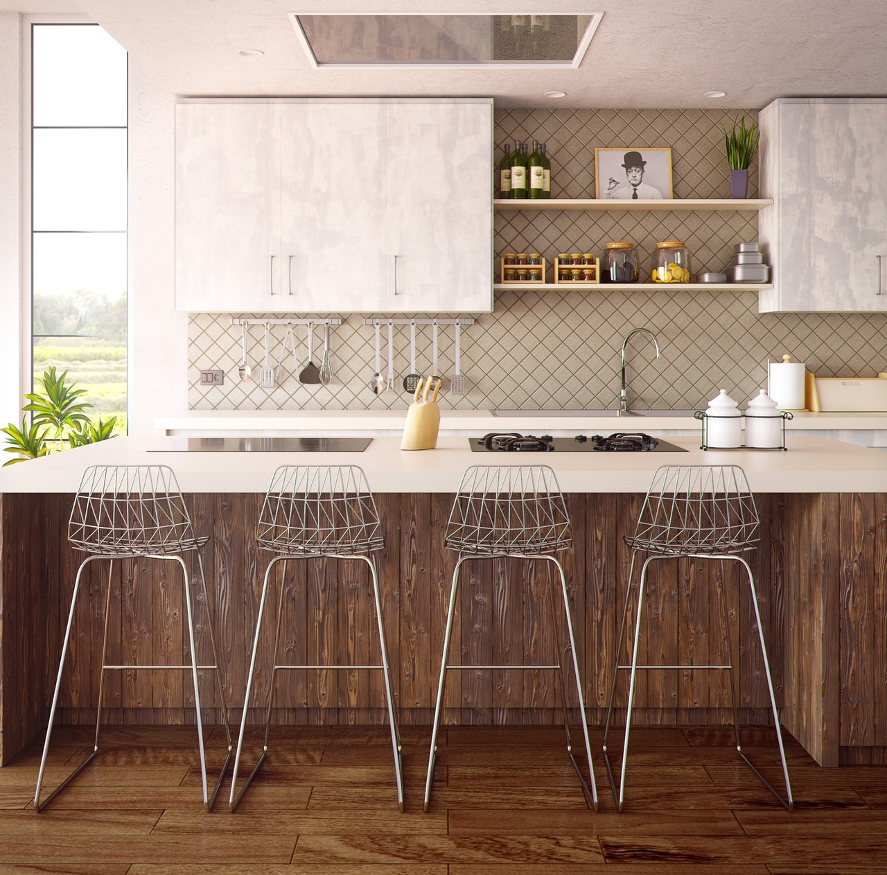 Stuffy To Spacious: Transforming A Compact Kitchen