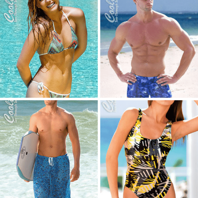 All Over Tan with TanThrough® Line of Swimwear