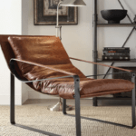 Manly Leather Accent Chairs For The Hip Hop Bachelor, 2018