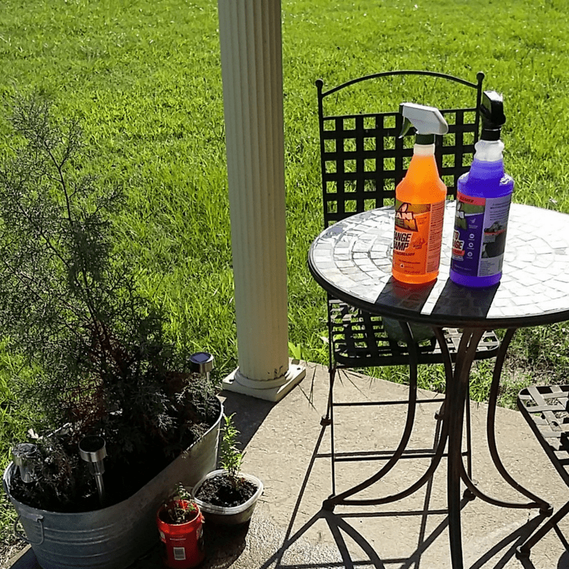 D.I.Y.  Bistro Table & Porch Refresh with Mean Green