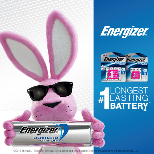 Power Your Summer With Energizer® Ultimate Lithium™ Batteries