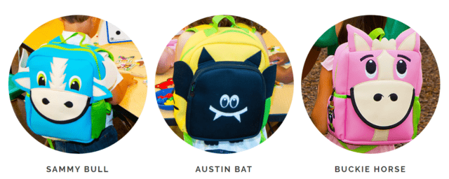 New Backpacks Perfect for Trick-or-Treating From Animal Packers