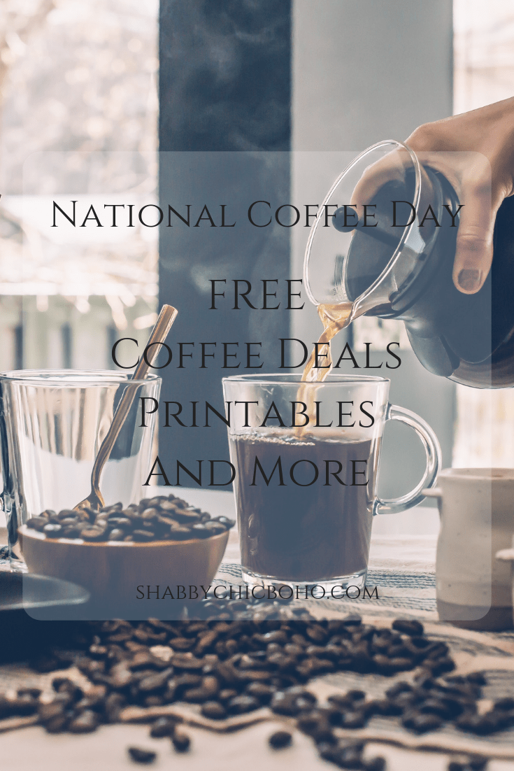 Celebrate National Coffee Day With Free Coffee Deals, Printables and More