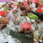 EveryPlate Easy Meals in Minutes Cheesy Beef Stuffed Peppers