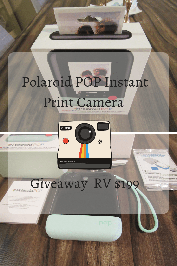 Giveaway Polaroid POP Instant Print Camera RV $199