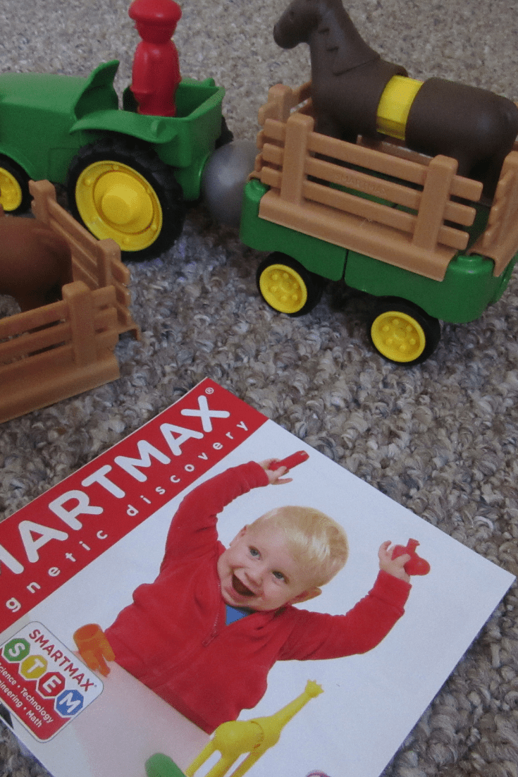 SmartMax My First Tractor Set Toddlers Gifts