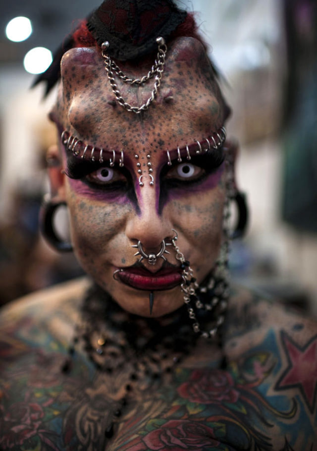 Extreme Body Modifications Sure Fire Ways Not to get Hired