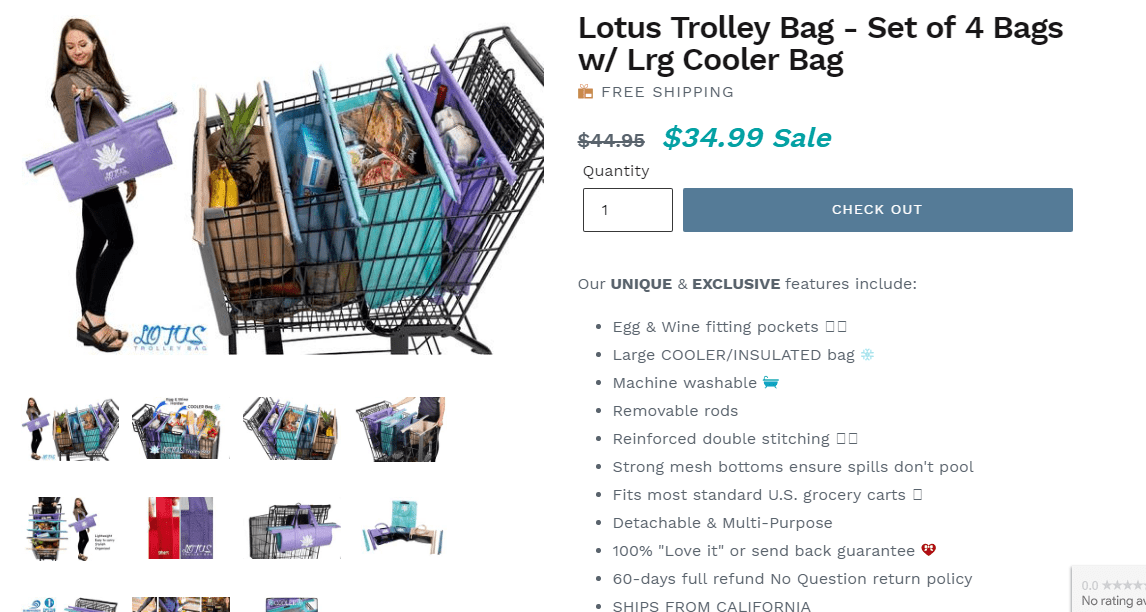 3 Reasons you need a Lotus Trolley Bag
