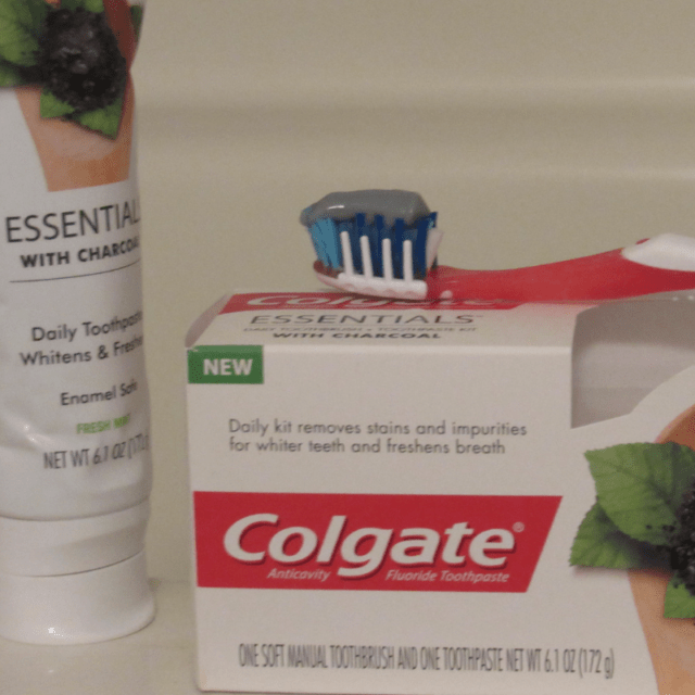 Colgate EssentialsToothpaste With Charcoal Stocking Stuffers