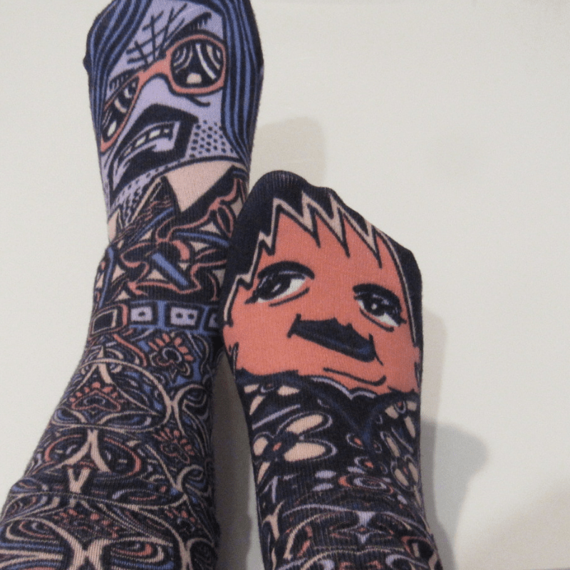 These Socks Are Made For Mixing Mr-Mi-Socki