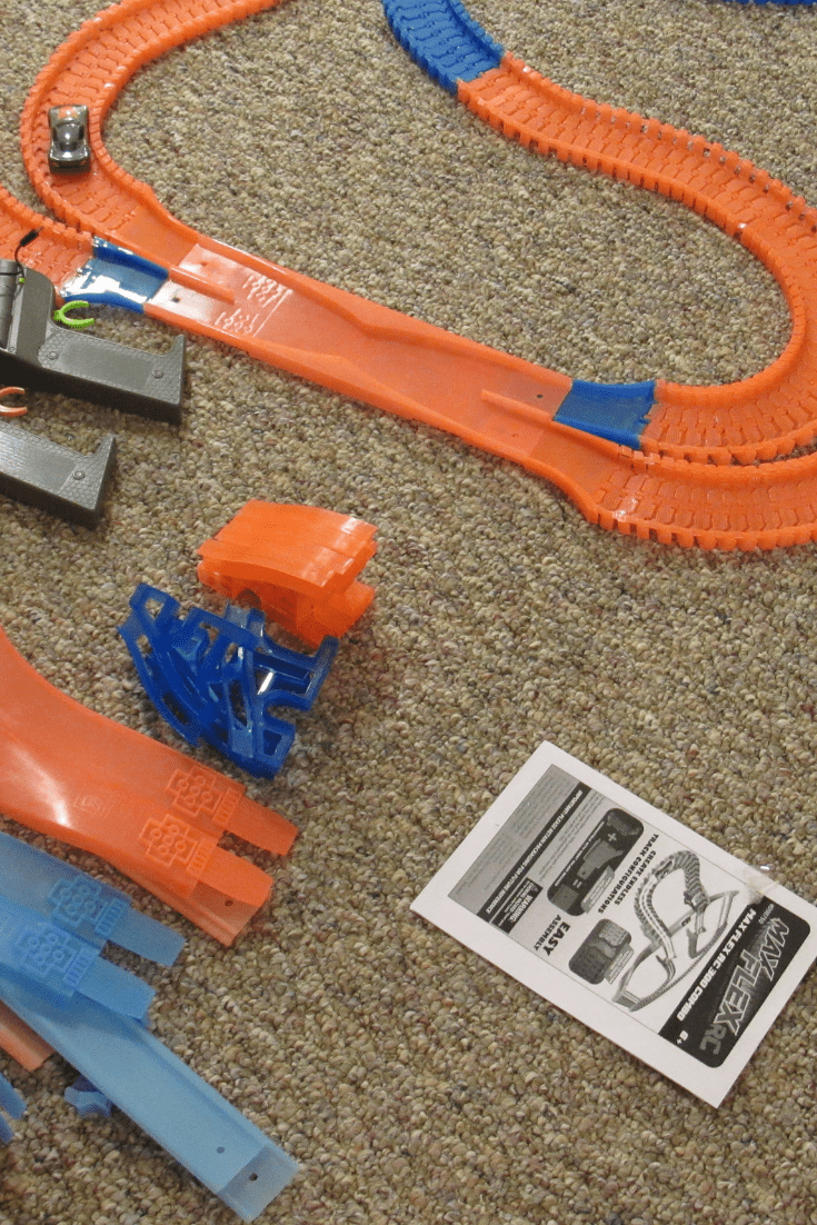 Glow in the dark train, not just for kids