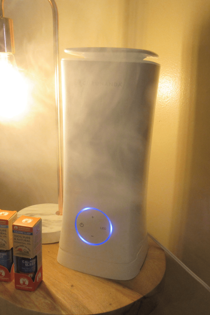 Tower XL Ultrasonic Essential Oil Diffuser GURUNANDA