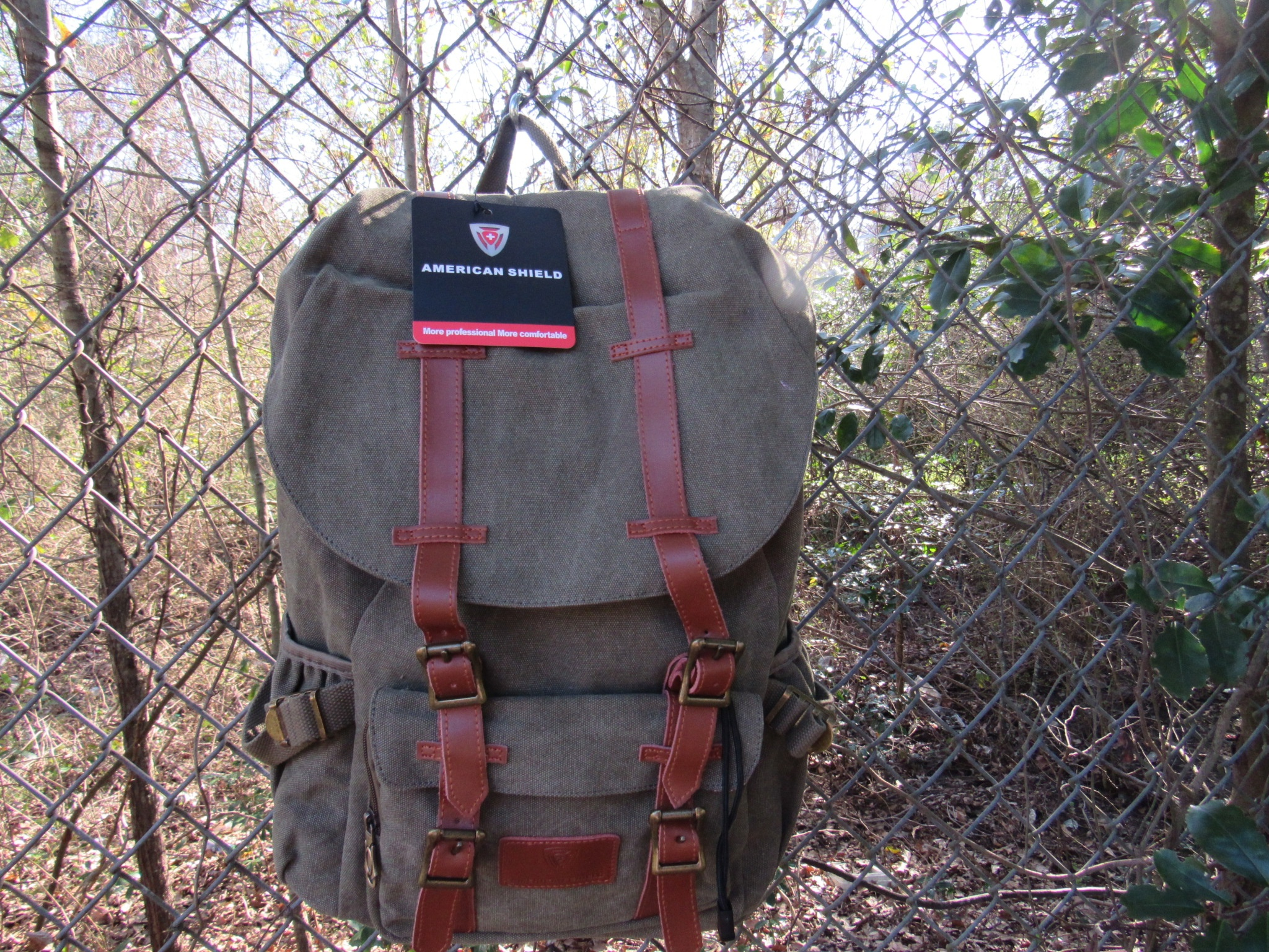 The American Shield Granite 25 series backpack is a hikers dream