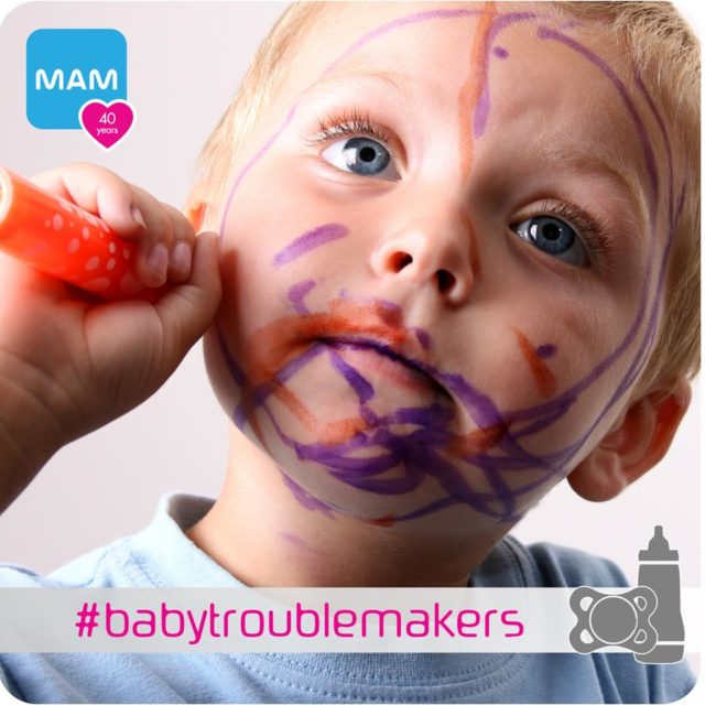 MAM has a #babytroublemakers contest going on from January 7 – January 25