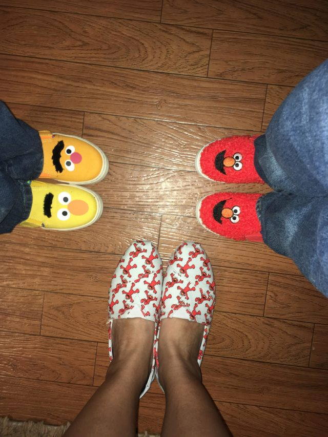 Mommy And Me Tom's Shoes Sesame Street