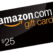 $25 eGift Card Amazon Giveaway, easy, no commenting or following