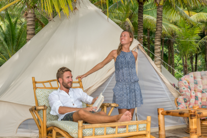 What's Glamping?! Everything You Need to Know About This Super Luxurious Camping Trend