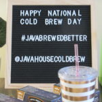 National Cold Brew Day April 20