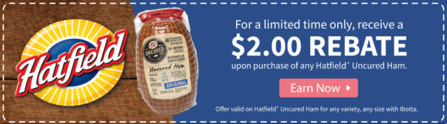 $2.00 Rebbate Hatfield® Uncured Ham In Time For Easter #ad #EasterWithHatfieldHam #SimplyHatfield #CollectiveBias