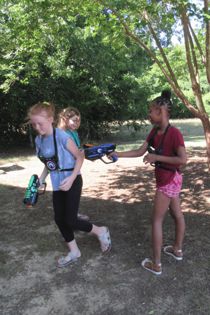 Our Summer Starts With ArmoGear #ad #armogear #laserbattle #nesstoy