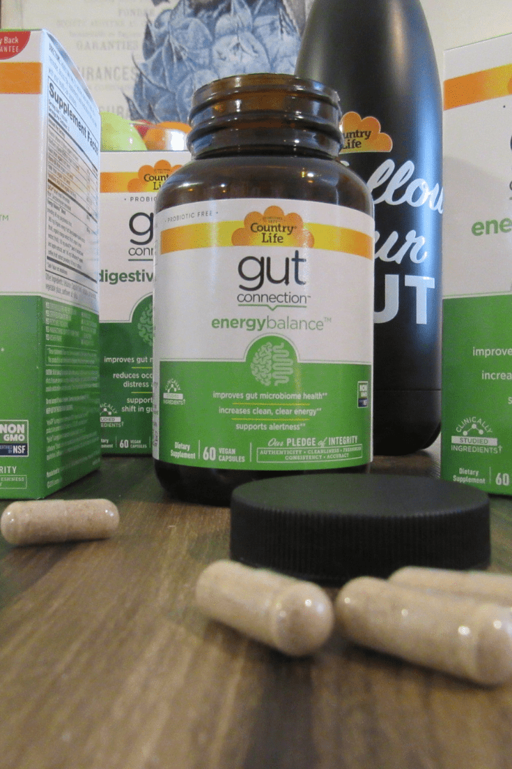 Follow Your Gut Energy Balance #Ad #CountryLife, #GutConnection, #ItsAllConnected, #GutHealth.