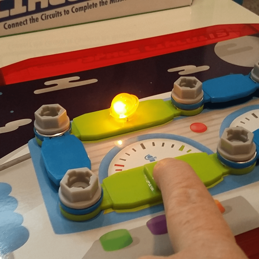 Creativity Set Design & Drill® Space Circuits Ages 5 to 8 Hands-On Fun #educational #durable #lotsoffun #engaging #interactive