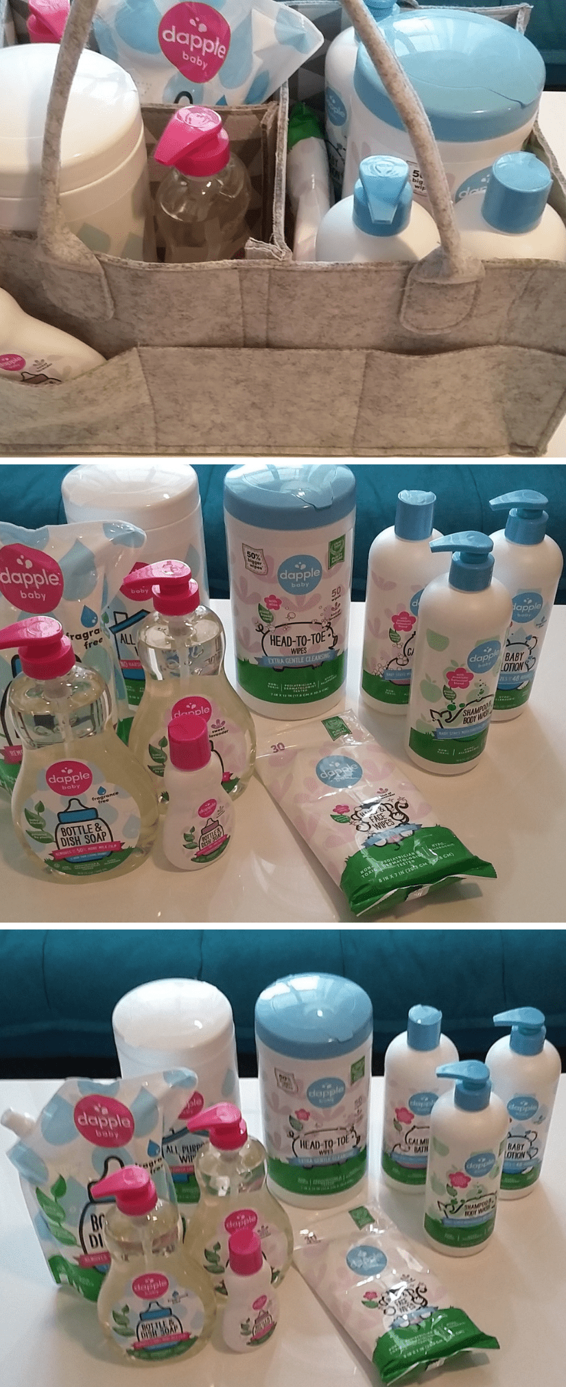 Dapple Baby Plant-Based Household and Personal Care