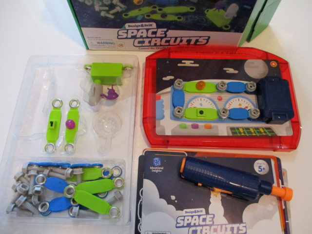 Creativity Set Design & Drill® Space Circuits Ages 5 to 8