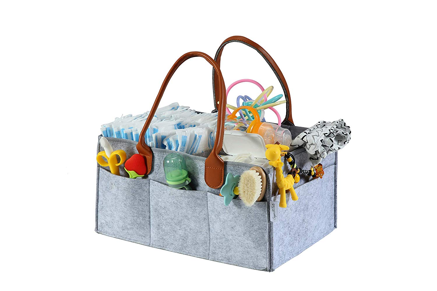 Premium Diaper Caddy by Cooper & Belle